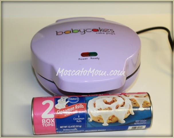 Cinnamon Rolls In Cake Pop Maker
