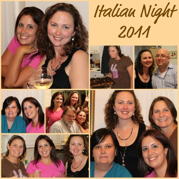 Italian Night – Friends, Family, and Flip Flop Moscato