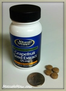 Grape seed extract for allergies