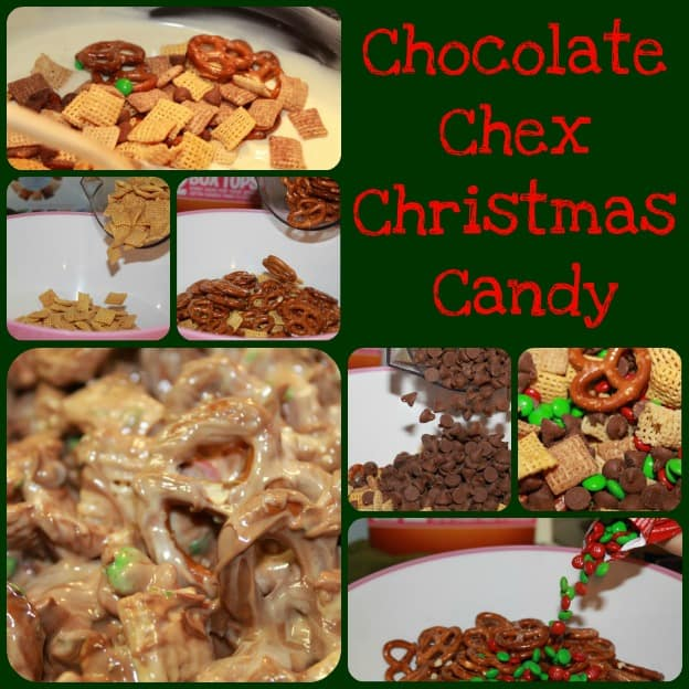 Chocolate Chex Christmas Candy