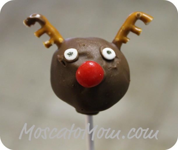 Christmas Cake Pops – Rudolph