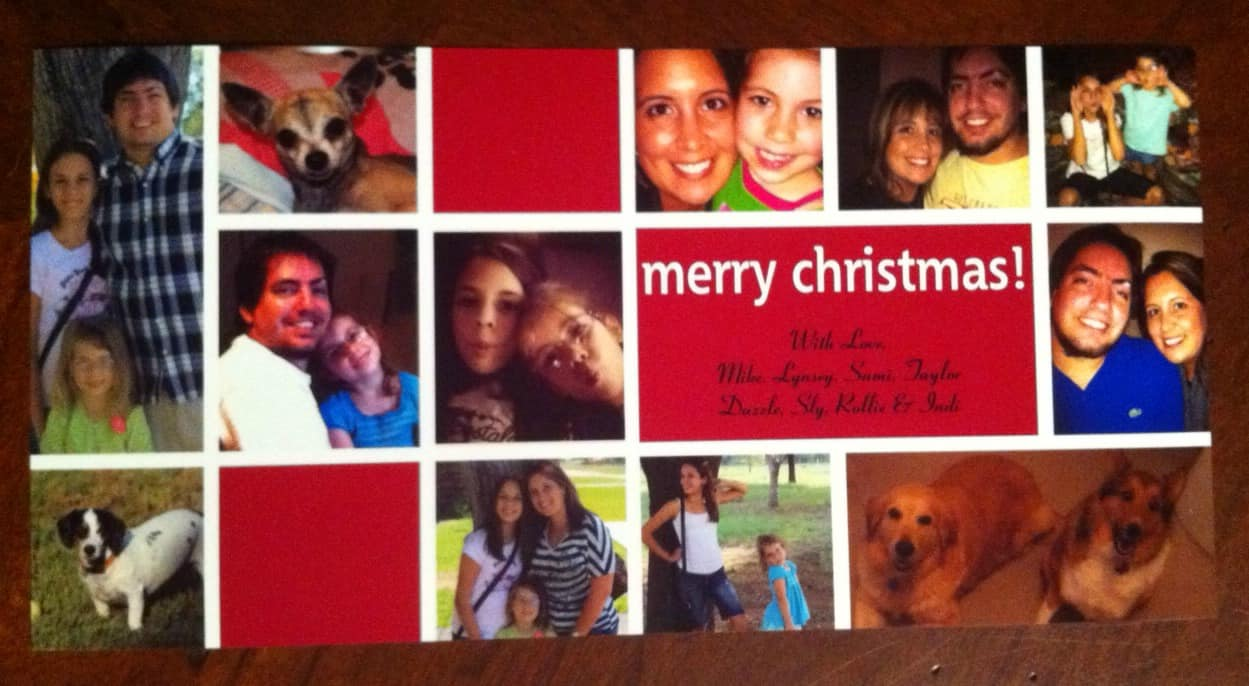 Walmart Makes Christmas Cards Easy