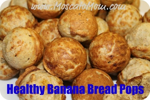 Healthy Banana Bread – Cake Pops