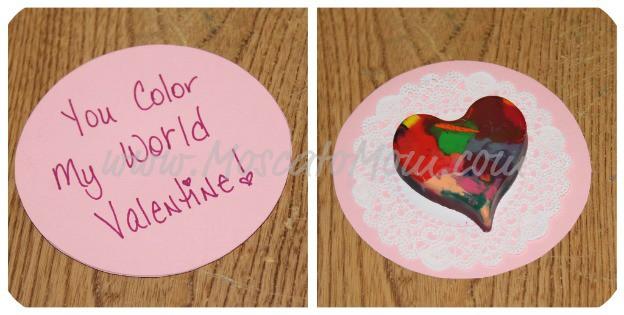 Crayon Art Valentine's