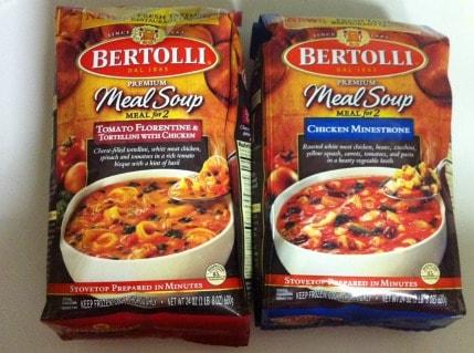 Bertolli Meal Soup Review