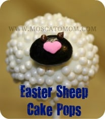 Easter Cake Pops Sheep