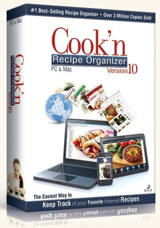 Cook'n Recipe Organizer Software