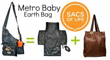 Sacs of Life Hands Free Diaper Bag #Giveaway