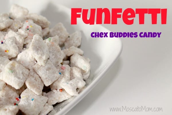 Funfetti Chex Buddies Candy Recipe