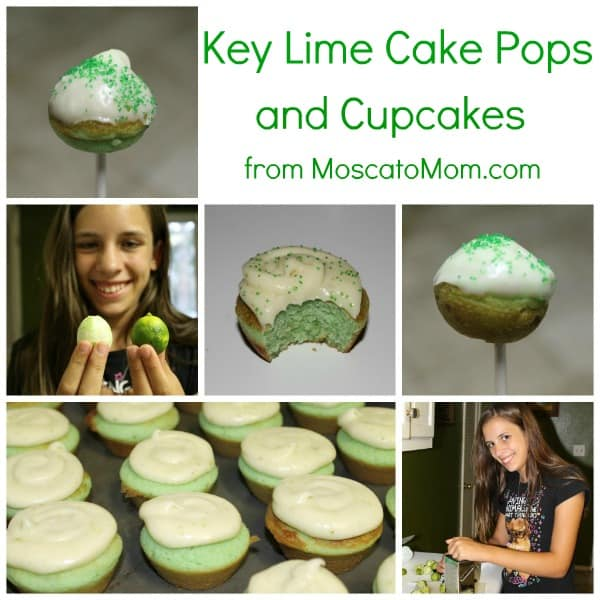 Key Lime Summer Cake Pops