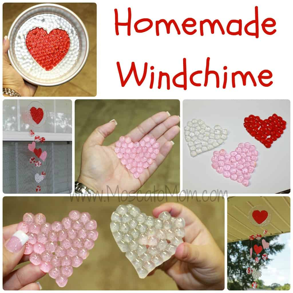 Windchine craft for kids moscato mom for Bead craft for kids