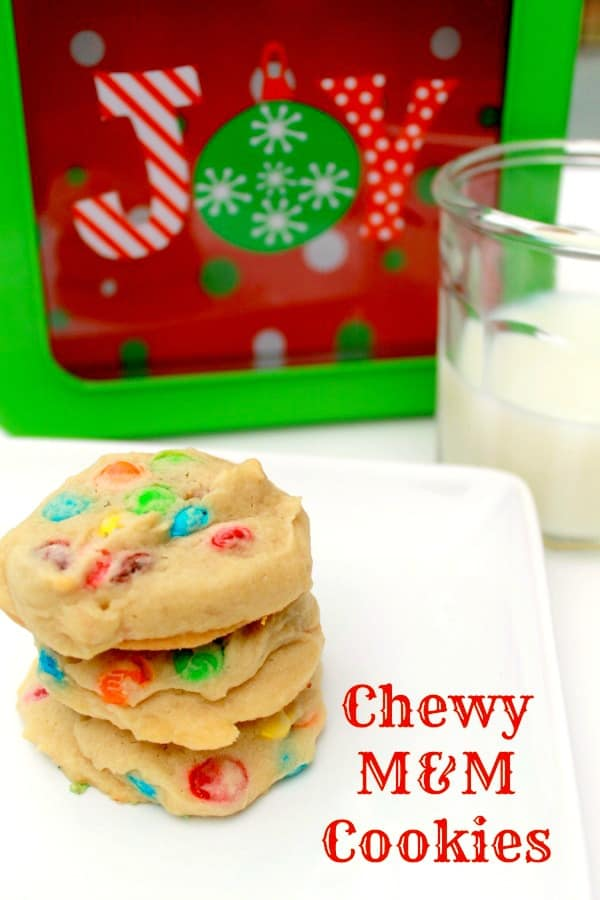 Chewy M&M Cookies Recipe