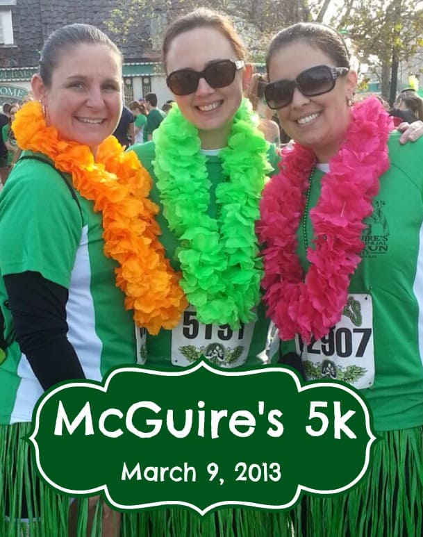 Goal #3 Done – McGuire's 5k