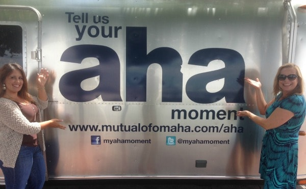 "What Is YOUR ""Aha Moment?""  Mutual of Omaha"