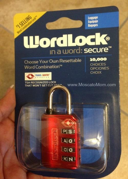 wordlock best travel luggage lock