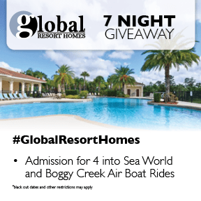 Seven Night Florida Vacation #Giveaway from Global Resort Homes
