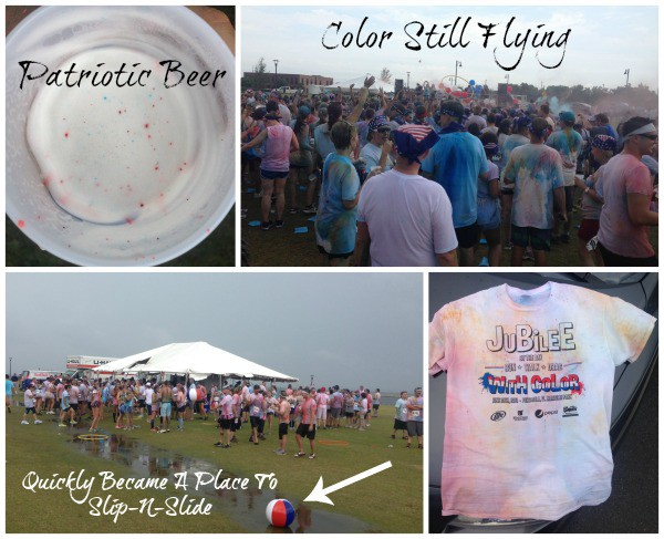 jubilee 5k run with color