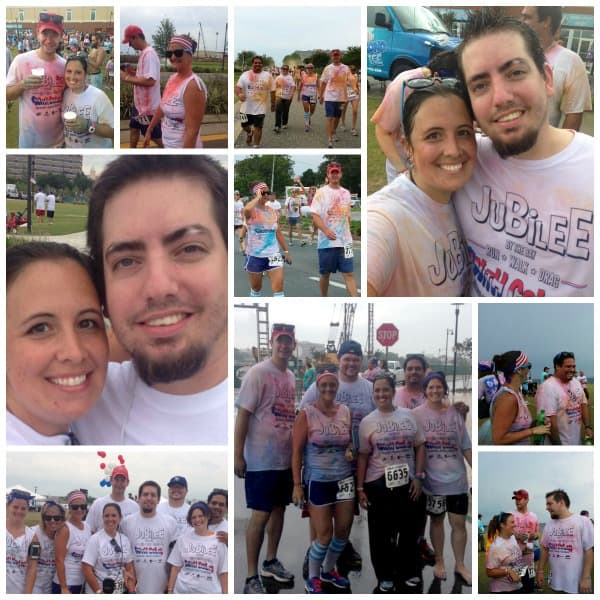 jubilee color run june 2013