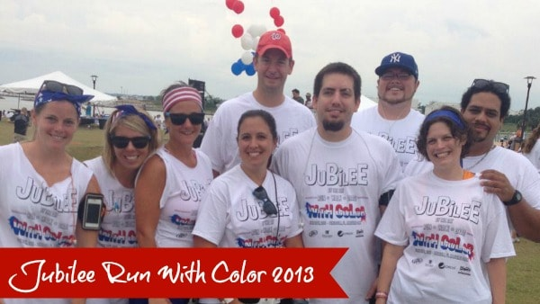 jubilee run with color 2013