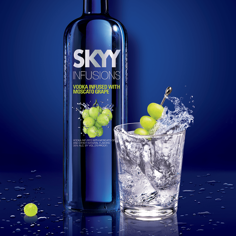 Skyy Moscato Infused Vodka