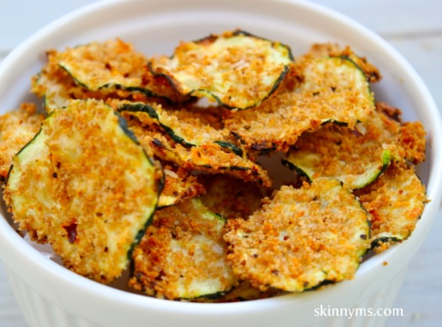 Photo Credit - http://skinnyms.com/oven-baked-zucchini-chips/