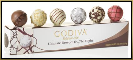 godiva truffle take off