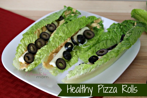 healthy pizza rolls