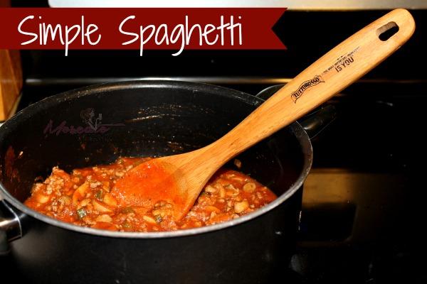 simple spaghetti recipe