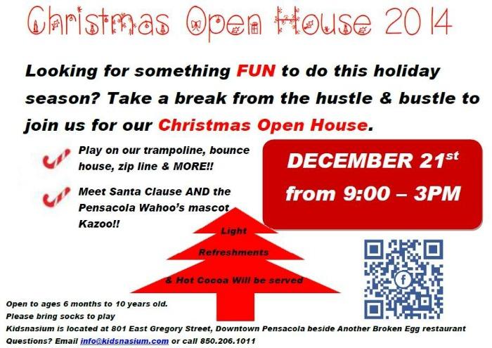 kidsnasium open house