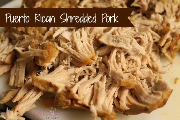 shredded pork crockpot recipe