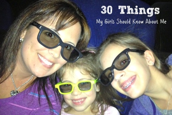 30 Things My Girls Should Know