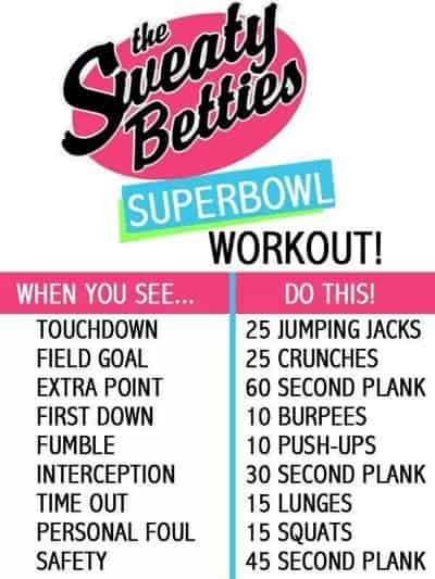 SuperBowl Workout
