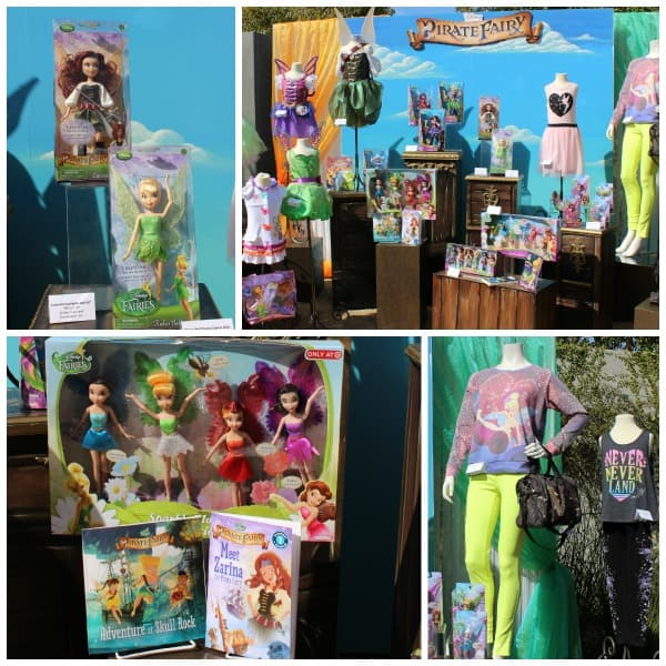 pirate fairy merchandise