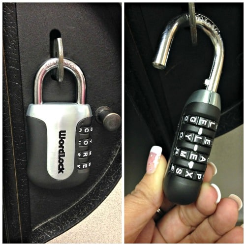 wordlock gym lock