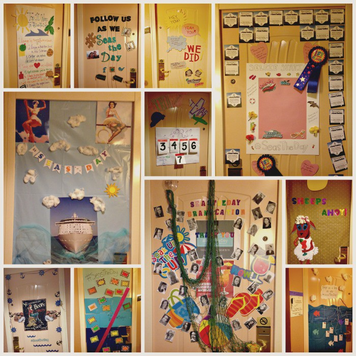 Our #SeasTheDay Cruise Ship Door Decorating Contest