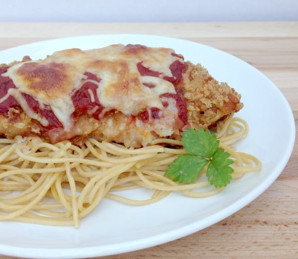 homemade chicken parmesan 1
