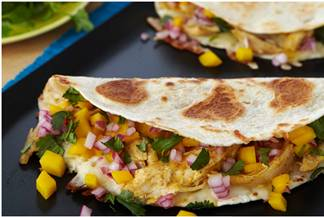 Mango Chicken Quesadillas – Cinco de Mayo
