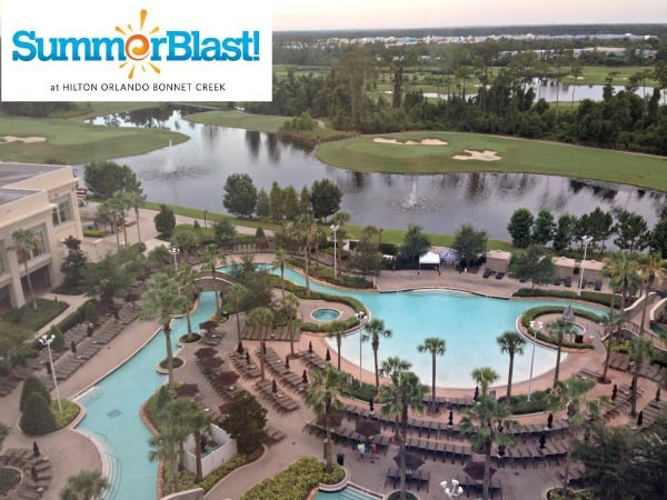 Have a #SummerBlast at Hilton Bonnet Creek in Orlando Florida