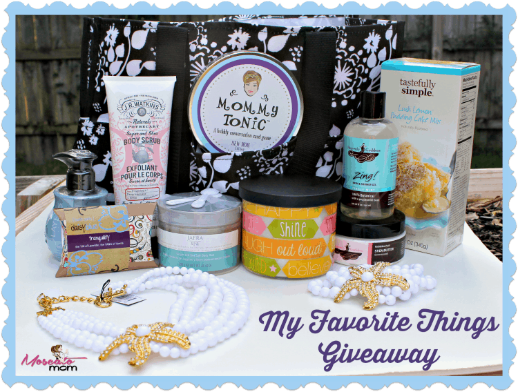 Summer My Favorite Things Giveaway
