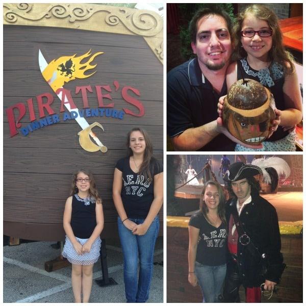 pirates adventure dinner theater