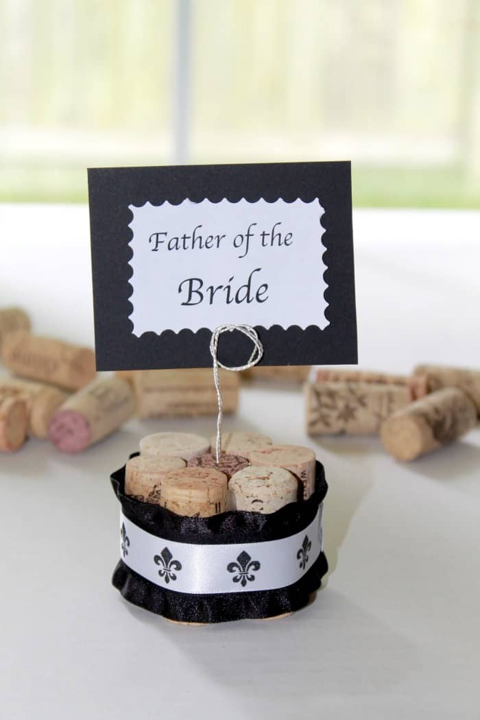 wine cork wedding favors