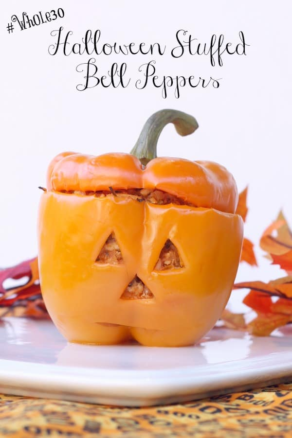 whole30 stuffed bell pepper recipe