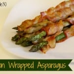 bacon wrapped asparagus whole30