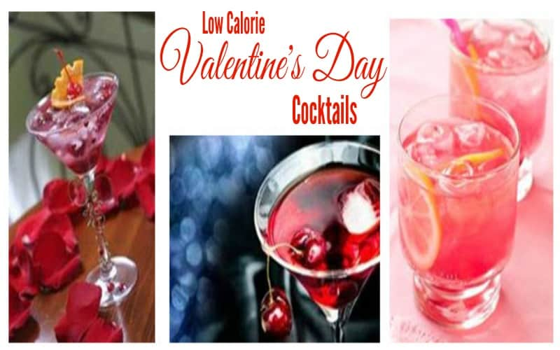 Low Calorie Valentine's Day Cocktails
