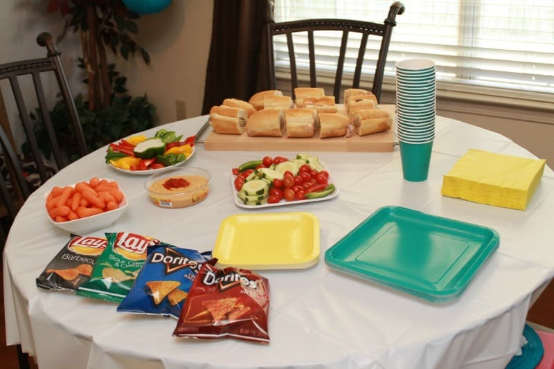 pampers firsts party