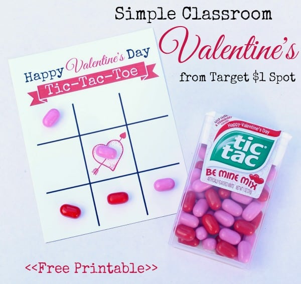 simple printable valentines