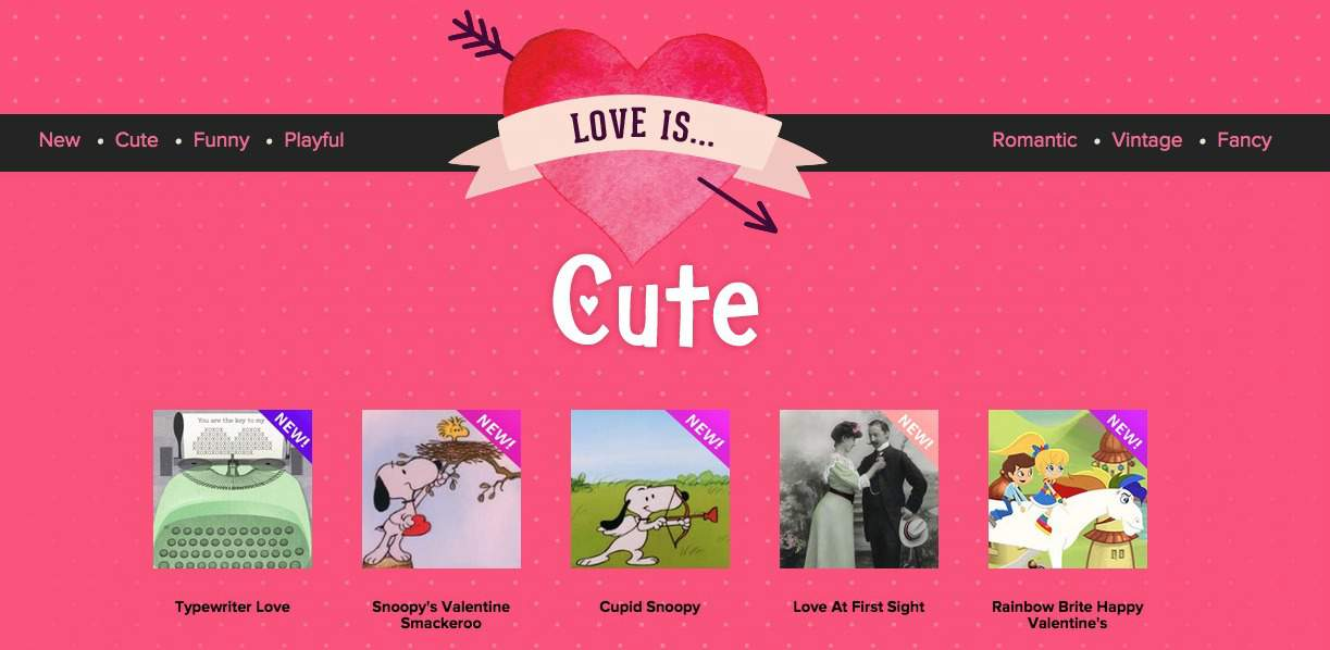 "Say ""I Dig You"" This Valentine's Day with Hallmark eCards"