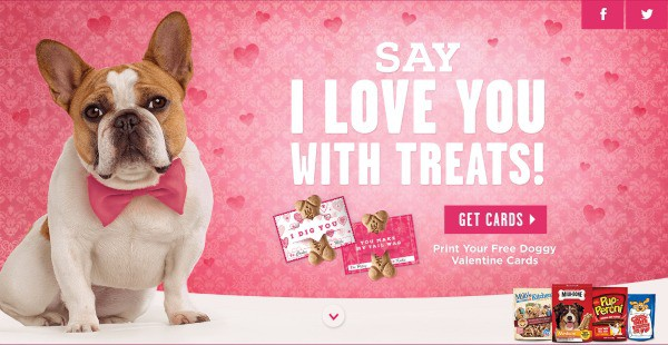 February 13th is Valentine's for Dogs – Say I LOVE YOU with treats!