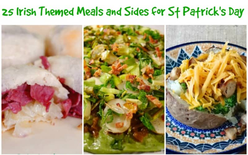25 St Patrick's Day Meals and Sides