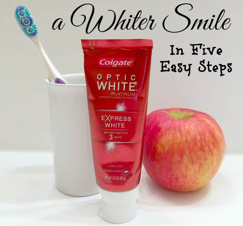 Five Tips For Whiter Teeth